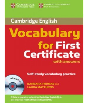 Cambridge Vocabulary for First Certificate Book with Audio CD