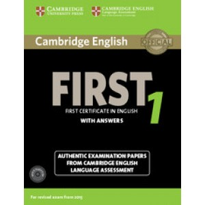 Тести Cambridge English First 1 for Revised Exam from 2015 Student's Book with Answers and Audio CDs (2)