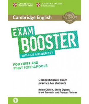 Підручник Exam Booster for First and First for Schools Book without Answer Key with Audio