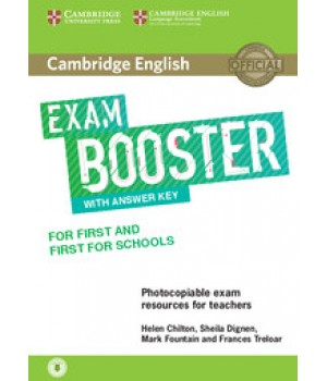 Підручник Exam Booster for First and First for Schools Book with Answer Key with Audio for Teachers