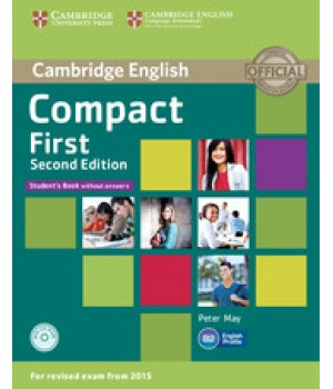 Підручник Compact First 2nd Edition Student's Book without answers with CD-ROM