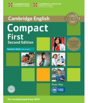 Підручник Compact First 2nd Edition Student's Book with answers with CD-ROM