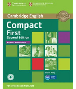 Робочий зошит Compact First 2nd Edition Workbook without answers with audio