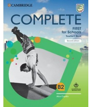 Книга для вчителя Complete First for Schools Teacher's Book with Downloadable Resource Pack 2nd Edition