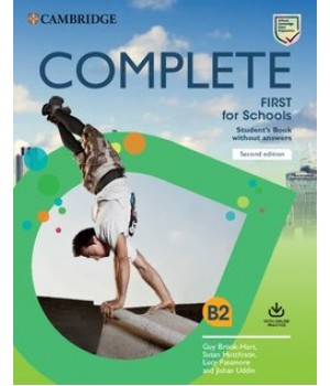 Підручник Complete First for Schools Student's Book without Answers with Online Practice 2nd Edition