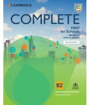 Робочий зошит Complete First for Schools Workbook without Answers with Audio Download 2nd Edition