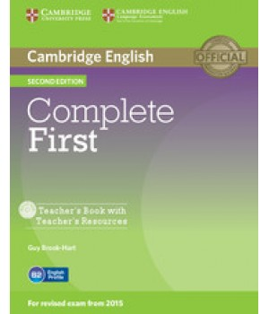 Книга для вчителя Complete First Second edition Teacher's Book with Teacher's Resources CD-ROM