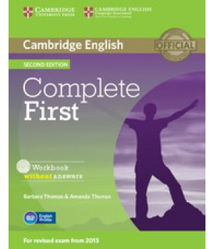 Робочий зошит Complete First Second edition Workbook without Answers with Audio CD
