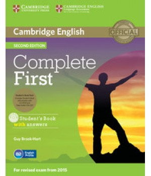Підручник Complete First Second edition Student's Book with Answers with CD-ROM