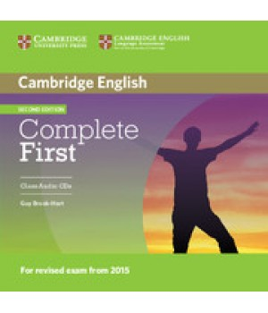 Диски Complete First Second edition Class Audio CDs