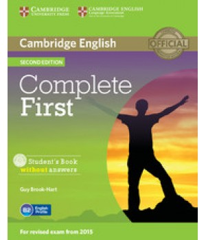 Підручник Complete First Second edition Student's Book with Answers and CD-ROM and Audio CDs
