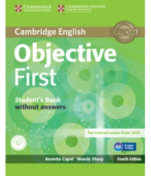 Підручник Objective First Fourth edition Student's Book without answers with CD-ROM