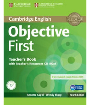 Книга для вчителя Objective First Fourth edition Teacher's Book with Teacher's Resources CD-ROM
