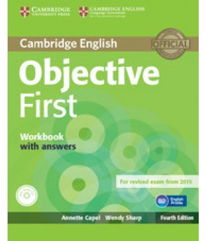 Робочий зошит Objective First Fourth edition Workbook with answers with Audio CD