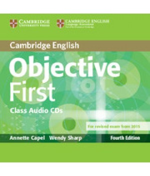 Диски Objective First Fourth edition Class Audio CDs