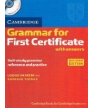 Граматика Cambridge Grammar for First Certificate Book with answers and Audio CD