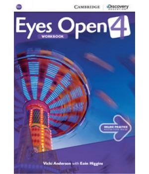 Робочий зошит Eyes Open Level 4 Workbook with Online Practice
