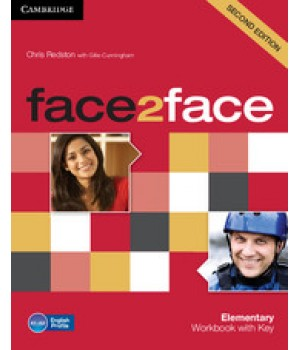 Рабочая тетрадь Face2face Second edition Elementary Workbook with Key