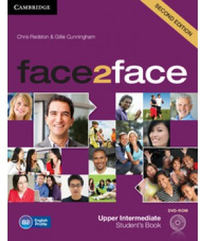 Підручник Face2face Second edition Upper Intermediate Student's Book with DVD-ROM