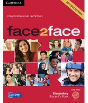 Учебник Face2face Second edition Elementary Student's Book with DVD-ROM