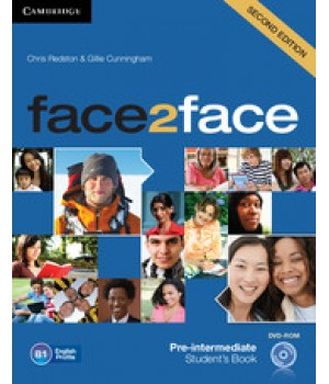 Підручник Face2face Second edition Pre-intermediate Student's Book with DVD-ROM