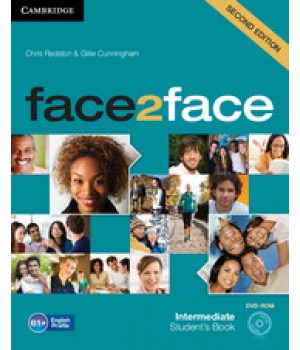 Підручник Face2face Second edition Intermediate Student's Book with DVD-ROM