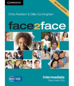 Диски Face2face Second edition Intermediate Class Audio CDs (3)