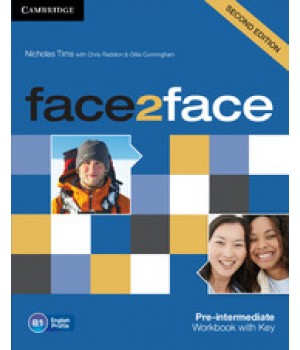 Робочий зошит Face2face Second edition Pre-intermediate Workbook with Key