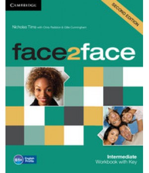 Робочий зошит Face2face Second edition Intermediate Workbook with Key