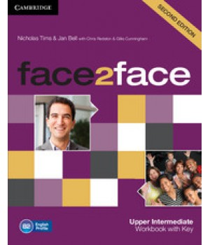 Робочий зошит Face2face Second edition Upper Intermediate Workbook with Key