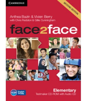 Диск Face2face Second edition Elementary Testmaker CD-ROM and Audio CD