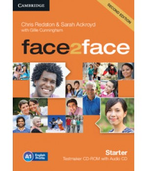 Диск Face2face Second edition Starter Testmaker CD-ROM and Audio CD