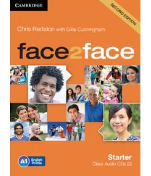 Диски Face2face Second edition Starter Class Audio CDs (3)