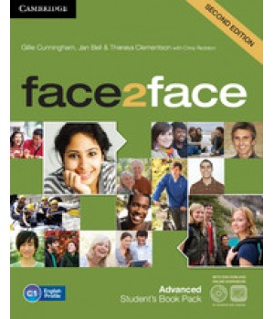 Підручник Face2face Second edition Advanced Student's Book with DVD-ROM and Online Workbook Pack