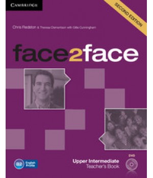 Книга для вчителя Face2face Second edition Upper Intermediate Teacher's Book with DVD