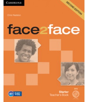 Книга для вчителя Face2face Second edition Starter Teacher's Book with DVD