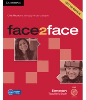 Книга для учителя Face2face Second edition Elementary Teacher's Book with DVD