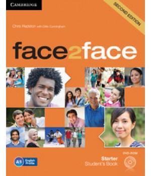 Підручник Face2face Second edition Starter Student's Book with DVD-ROM