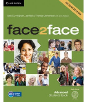 Підручник Face2face Second edition Advanced Student's Book with DVD-ROM