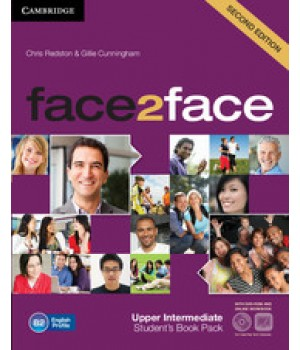 Підручник Face2face Second edition Upper Intermediate Student's Book with DVD-ROM and Online Workbook Pack
