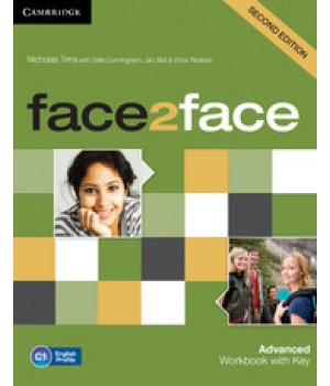 Робочий зошит Face2face Second edition Advanced Workbook with Key
