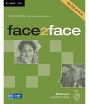 Книга для вчителя Face2face Second edition Advanced Teacher's Book with DVD