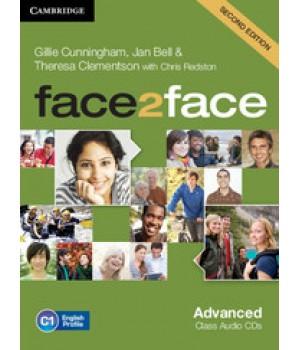 Диски Face2face Second edition Advanced Class Audio CDs (3)