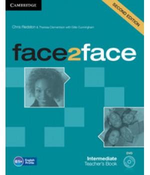 Книга для вчителя Face2face Second edition Intermediate Teacher's Book with DVD