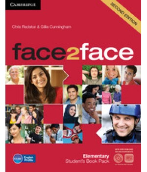 Учебник Face2face Second edition Elementary Student's Book with DVD-ROM and Online Workbook Pack