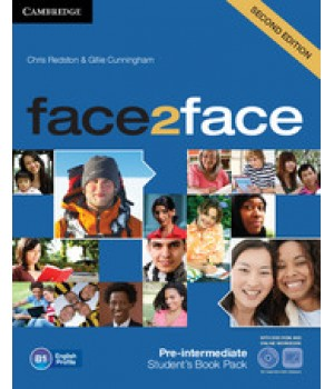 Підручник Face2face Second edition Pre-intermediate Student's Book with DVD-ROM and Online Workbook Pack