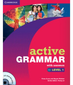 Граматика Active Grammar Level 1 Book with answers and CD-ROM