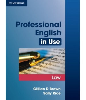 Підручник Professional English in Use Law