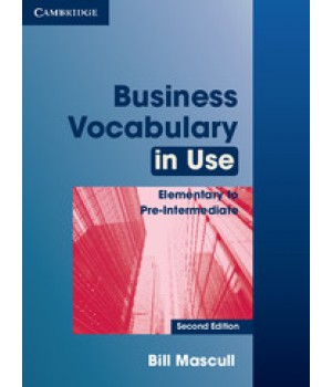 Учебник Business Vocabulary in Use: Elementary to Pre-intermediate 2nd Edition Edition with answers
