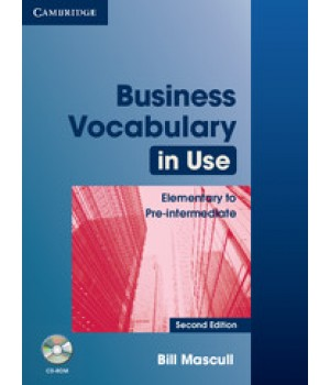 Підручник Business Vocabulary in Use: Elementary to Pre-intermediate 2nd Edition Edition with answers and CD-ROM